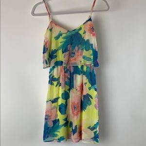 Charlotte Russe Girl's Floral Dress Sz XS